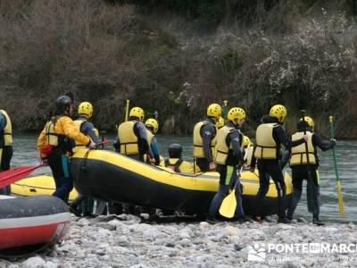 Rafting río Ara; tiendas de montañismo en madrid; rutas excursiones